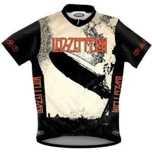 Primal Wear Mens Led Zeppelin I Rock Short Sleeve Cycling