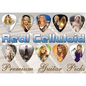 Taylor Swift Premium Guitar Picks X 10 (0) Musical