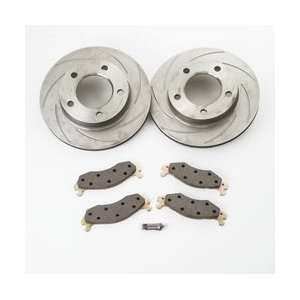 Stainless Steel Brakes A2370014 SHORT STOP SLOTTED ROTOR