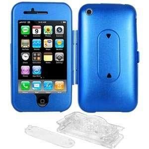 com High Quality New Amzer Aluminum Case Stand Blue 360 Degree Swivel