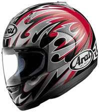RED/BLK Motorcycle Helmet Street On Road Full Face NEW SALE
