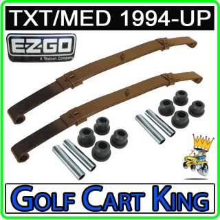 EZGO 1994 Up TXT/Medalist Gas and Electric Golf Carts  Rear Leaf