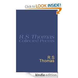 Collected Poems 1945 1990 R.S.Thomas R S Thomas  Kindle