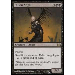 Magic the Gathering   Fallen Angel   Duel Decks Divine