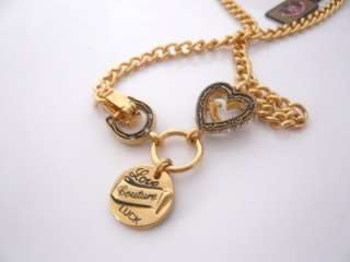 Auth Juicy Couture Love, Luck & Couture Necklace $58