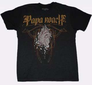 Papa Roach Rock Band Punk Rocker Chaser Tee Shirt Small