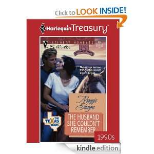The Husband She Couldnt Remember (The Texas Brand; Silhouette