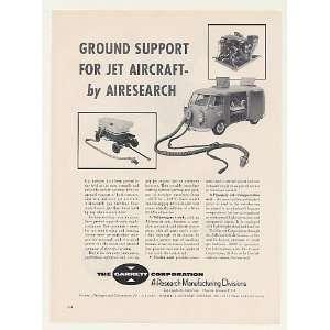 1959 Garrett VW Bus Gas Turbine Jet Aircraft Starter Print