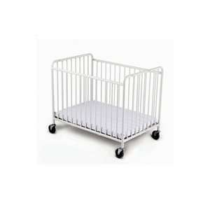 Foundations StowAway Compact Size Steel Folding Crib Baby
