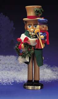 STEINBACH NUTCRACKER BOB CRATCHIT & TINY TIM, RETIRED