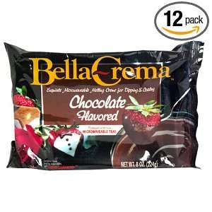 Bella Crema Chocolate Coating, 8 Ounce Grocery & Gourmet Food