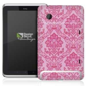 Design Skins for HTC Flyer Rueckseite   Pretty in pink Design