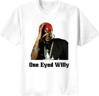 Jim Jones One Eyed Willy DipSet Hip Hop Rap T Shirt