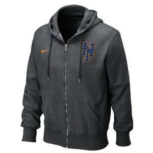 New York Mets Seasonal Full Zip Hooded Sweatshirt by Nike