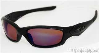 OAKLEY STRAIGHT JACKET HD Polarized Black   Shallow Blue Lens NEW