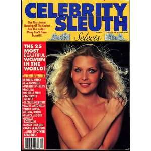 CELEBRITY SLEUTH MAGAZINE vol 2 #4: celebrity sleuth: Books