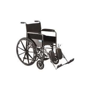 Veranda Wheelchair (18 x 16) with Permanent Arms Elevating Legrests