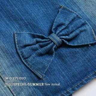Women Korea Sexy Sequins Denim Vest Waistcoat G385