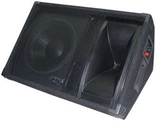 600 WATT 12 TWO WAY STAGE MONITOR SPEAKER SYSTEM 068888725484