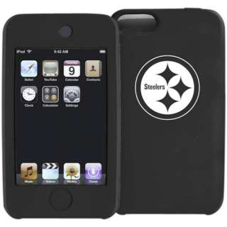 Pittsburgh Steelers Black Silicone iPod Touch Case 845933030171