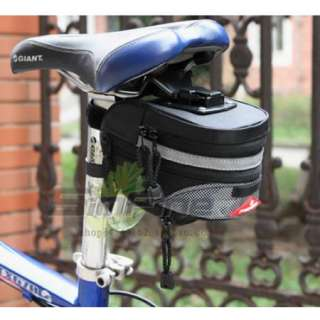 NEW 2011 Cycling Bicycle Bike outdoor Saddle Seat Pouch BLACK Bag