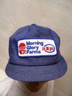 Morning Glory Farms AMPI Ladies Denim Snapback Cap/Hat Dairy NOS