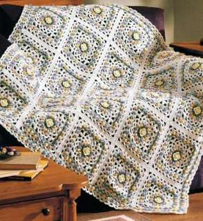 Ripple Afghan Knitting Pattern - Free Knitting Patterns from