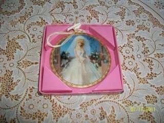 Enesco Porcelain Barbie Ornament Wedding Day 1959 NIB