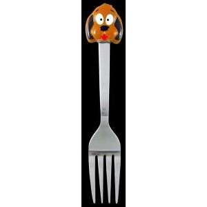 Dog Puppy Baby Toddler Kids Utensil Stainless Steel Fork