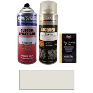 12.5 Oz. Aventurine Silver Metallic Spray Can Paint Kit for 2011 BMW 3