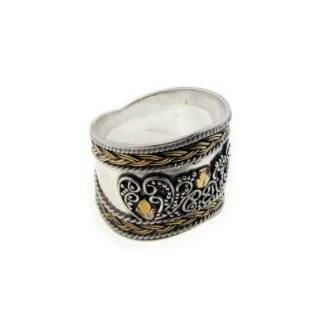 Paladins Medieval Finger Armor Sterling Silver 20mm Wide Ring(Sizes 9
