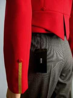 ABS Allen B Schwartz Red Marching Band Jacket 4 NWT