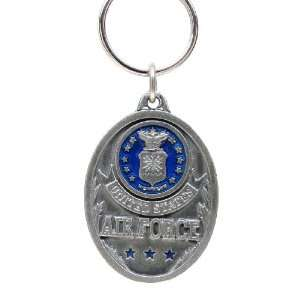 Air Force Falcons Pewter Key Ring   U.S. Air Force   NCAA