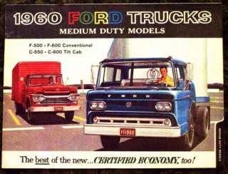 1960 Ford Trucks Medium Duty Models Brochure 60