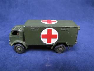 Vintage Dinky Toys Army Military Ambulance Truck #626