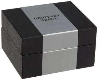 Geoffrey Beene Cufflinks & Tie Bars ~ Comes in Black & Silver Gift Box