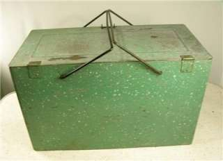 metal antique kitchen dairy ice box cooler attractive strong design