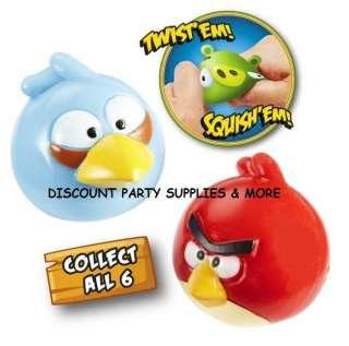 Angry Birds Mashems Squishems Red Bird & Blue Bird