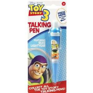 Disney Pixar Toy Story 3 Buzz Lightyear Talking Pen Toys & Games