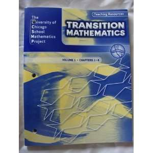 California Transition Mathematics Vol 1 Teaching Resources Books