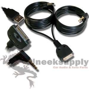 NISSAN USB 3.5MM iPOD iPHONE AUX INPUT CABLE A46