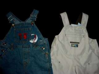 USED BABY BOY 12 18 MONTHS SPRING SUMMER OVERALL JUMPER DENIM OUTFIT