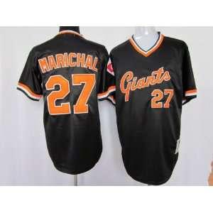 San Francisco Giants #27 Brandon Jacobs Black M&n 2011 MLB Authentic