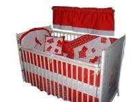 Baby Nursery Crib Bedding Set w/Philadelphia Phillies
