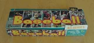 1973 TOPPS BASEBALL UNOPENED WAX BOX 24 PACK 4TH SERIES