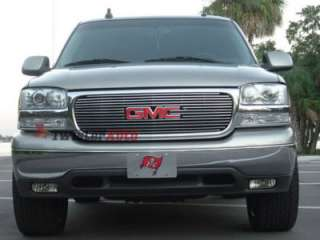 1999 2002 GMC Sierra Upper Aluminum Billet Grille Grill Bolton With