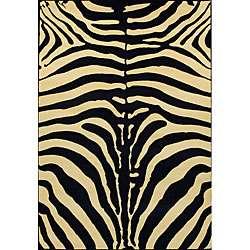 terrace zebra rug rug size 33 x 411
