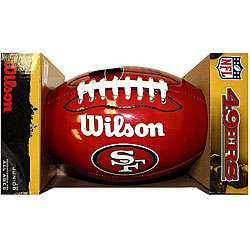 Wilson Junior NFL San Francisco 49ers Logo Football  Overstock