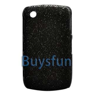 BLACK BLING Hard Cover Case BLACKBERRY CURVE 8520 8530