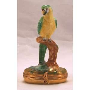 Colorful Parrot Bird French Le Limoges BOX